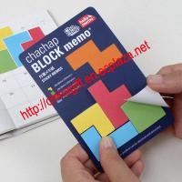 Tetris Block Memo Adhesive (80 sheets)