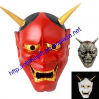 Japanese Ghost Party Christmas Halloween Ghost Resin Mask