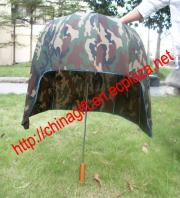 Camouflage Safty Helmet Umbrella