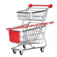 Multi-Function Mini Double-Deck Shopping Cart Desktop Organizer