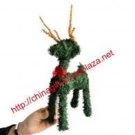 Christmas PVC Artificial Pine Reindeer
