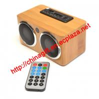 Hi-Fi Stereo Bamboo Speaker