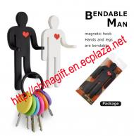 Bendable Man Magnetic Hook