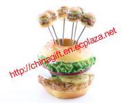 Hamburger Dessert Fork Set