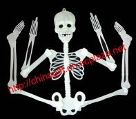 Inanfta Fluorescent Skeleton Halloween Toy