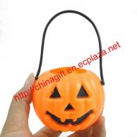 Protable Pumpkin Pot Halloween Decoration
