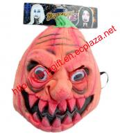 Latex Horrible Pumpkin Ghost Halloween Mask