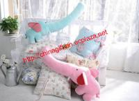 Long Nose Elephant Pillow Cushion