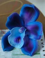 artificial flowers PU orchid
