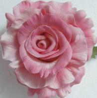 artificial flowers PU cabbage rose