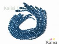 Bright blue color ball chain