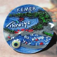 Souvenir Kemer Turkey Fridge Magnet