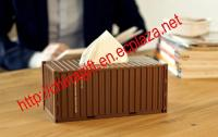 Container Style Tissue Box / Case / Holder