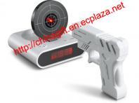 Gun O'Clock shooting alarm clock - New style