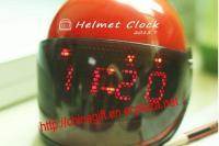 RACING HELMET ALARM CLOCK - SOUND RESPONSIVE