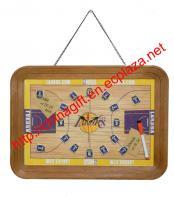 Basketball court Signboard Clock