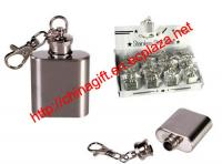 Stainless Flask key ring