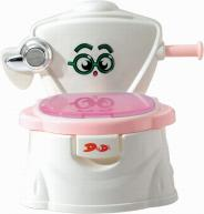 baby potty with flush valves