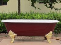 enamel cast iron freestanding bathtubs/freestanding tubs