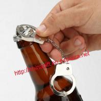 Handcuff Keychain & bottle opener