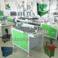 Clear cylindrical box making machine
