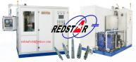 Shaft induction hardening equipment,Induction heat treatment system for gear