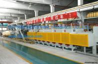 Continuous Carburizing and Tempering Line