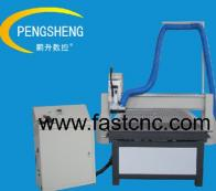 Woodworking cnc router with dust-collect function