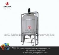 Industrial agitator mixing tank