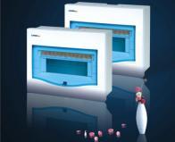 offer plastic distibution box--5-7 circuit