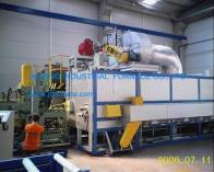 China Multi-billet Hot Log Shear Furnace