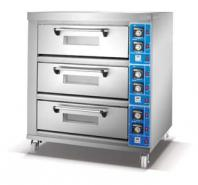 Electric deck Oven(3-deck 6-tray)