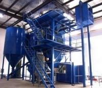 China gypsum powder production line.