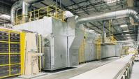 .Supply gypsum board production line