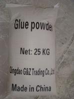 paper pipes (cardboard sleeves) glue powder