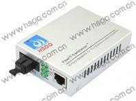 10-100-1000 Mbps Single  Fiber Media Converter