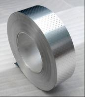 Perforated aluminium strip for ppr pipe
