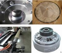 Round knife,Flanges,magnetic powder clutch and Air shaft,pad shaft and Flanges