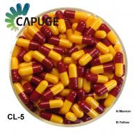 Empty Capsules 99.7% Filling Rate / Halal and FDA certified / Size 0, 1, 2, 3, 4 in various Colors