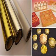 PVC Metallized Golden (Silver) Sheet