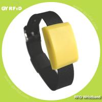 ISO14443A RFID Silicon Wristbands used for NFC payment, access control, event ticketing (GYRFID)