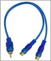 Blue Audio Video Cable