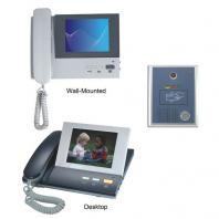 Desktop Color Video Door Phone with Access Control